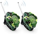 2 Pack Walkie Talkies Watch for Kids, Toys for 3-12 Year Old Boys Girls, Long Range Toy Watches as Gifts for 3+ Year Old Children to Outside,Hiking, Camping (2 Pack)