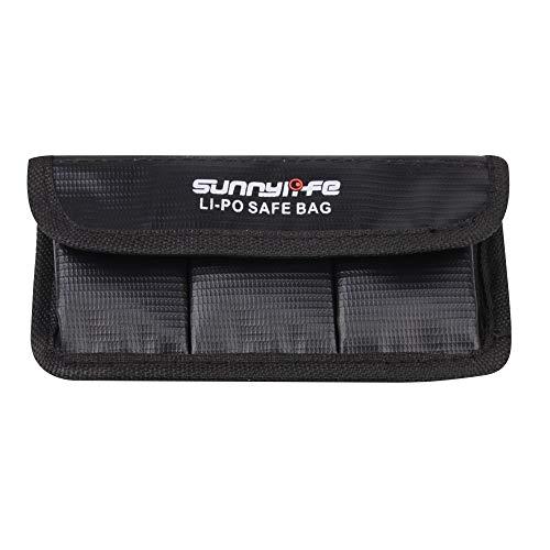 Sunnylife 3 in 1 accu explosieveilige tas voor DJI nieuwe actie, voor DJI