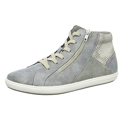Rieker-Teens Kinder Stiefel M.Boots in Grey/Shark/Kiesel, Größe 36.0,