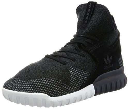 adidas Herren Tubular X Pk Basketballschuhe, Schwarz (C Black / Dk Grey / Chsogr), 46 EU