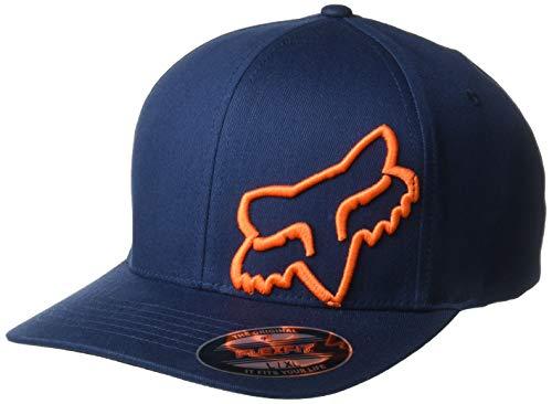 Flex 45 Flexfit Hat Navy/Orange
