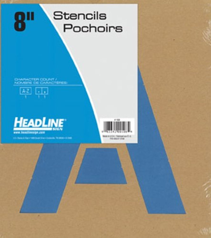 Headline Sign Schablone Set Buchstaben von A-Z 20 cm B00290KQNK     | Konzentrieren Sie sich auf das Babyleben