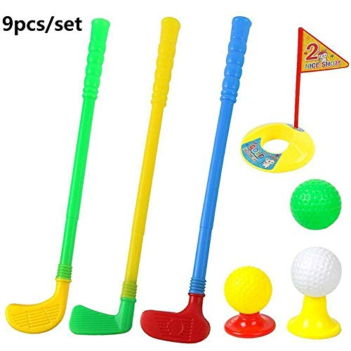 MZY1188 Kinder Golf Club Set Golf Mini Putter Set, Kinder Indoor Outdoor Ballspiel Kit Golf Übungsspielzeug