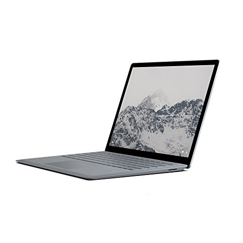 Microsoft Surface Laptop 34,29 cm (13,5 Zoll) (Intel Core M3 7Y30 , 128GB Festplatte, 4GB RAM, Intel HD Graphics 615, Win 10 S) Platin Grau