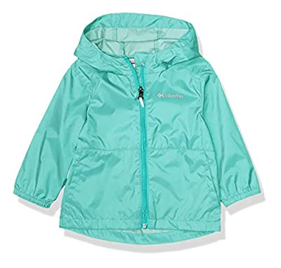 Columbia Baby Girls' Toddler Switchback II Jacket, Dolphin, 3T