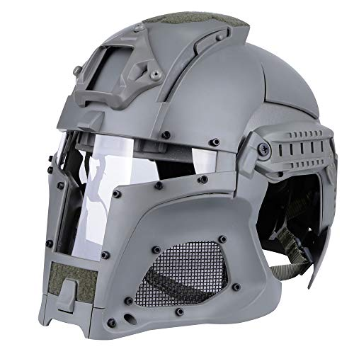 S&T Medieval Iron Warriorタイプ ヘルメット (GREY) STHM016GY