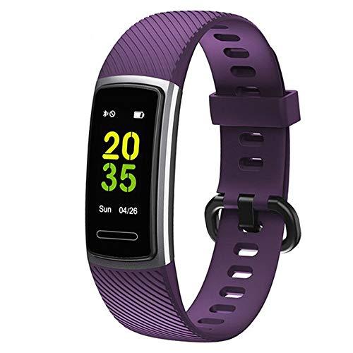 Fenshan223 Rastreador de fitness, Rastreador de actividades, Reloj deportivo de salud con ritmo cardíaco y monitor de sueño, contador de calorías inteligentes, contador de pasos, podómetro masculino y