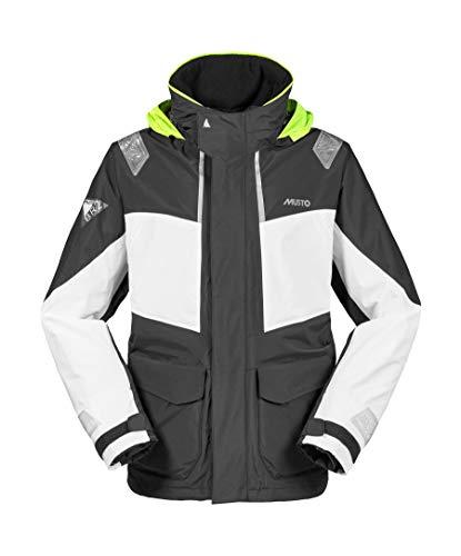 Musto Herren Br2 Coastal Coat Jacket Mantel Schwarz. Wasserdicht und atmungsaktiv