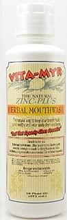 VITA-MYR Zinc-Plus Xtra Herbal Mouthwash (16 Ounce)