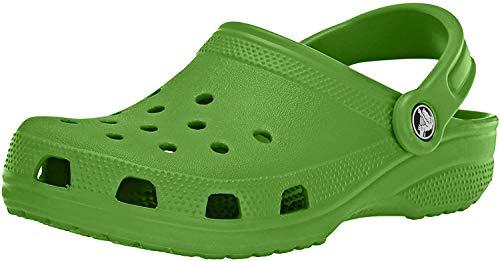 Crocs Classic, Sabots Mixte Adulte Vert (Parrot Green) 41-42 EU