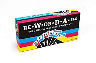 Rewordable Card Game: The Uniquely Fragmented Word Game
