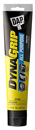 DAP 27500 5 Oz DynaGrip All Purpose Interior Construction Adhesive