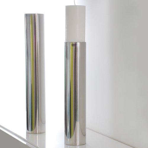 Leuchter SUB, Kerzenleuchter, Edelstahl, 35 cm, Kaheku