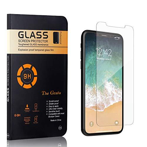 The Grafu 9H Verre Trempé pour iPhone 11 Pro, Anti Rayures Protection en Verre Trempé Écran pour iPhone 11 Pro, 3D Touch, Sans Traces de Doigts, 1 Pièces