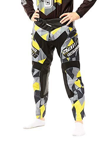 GRENZGAENGER Warpaint Race Pants yellow brick 42