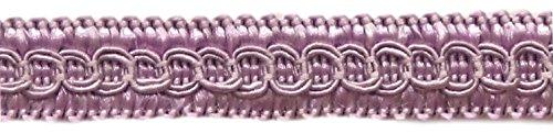 12.3 Meter Value Pack of 13mm Basic Trim Decorative Gimp Braid, Style# 0050SG Color: LILAC - D7, (41 Ft / 13.5 Yards)