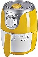 Ariete 4615 Airy Fryer Mini, Friggitrice ad aria senza olio, 1000 W, Capacità 2 Litri, Facile da pulire, Giallo