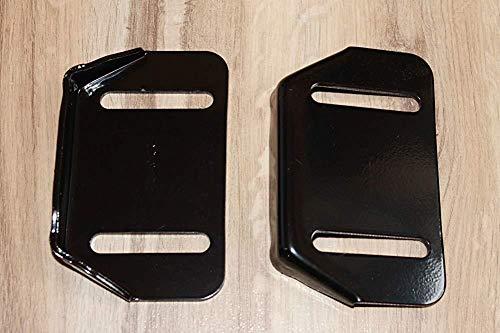 DierCosy Tools 784-5580-0637 Passend Cub Cadet Für Mtd Yardman Schneefräse Thrower, 2 (Zwei) Skids Gleitschuhe Ersetzen 784-5580