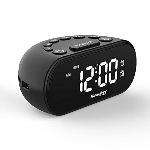 REACHER LED Digital Alarm Clock