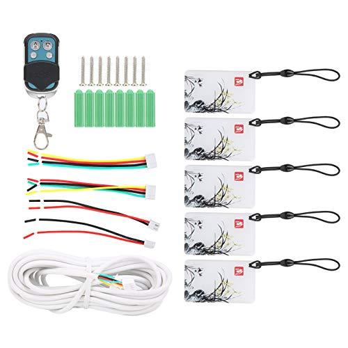 minifinker Sistema de Control de Acceso con Video Timbre, para Apartamentos, para 2 monitores(Blue)