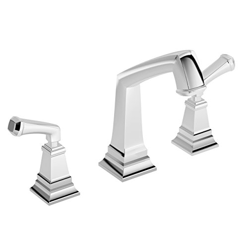 Symmons SRT-4270 Oxford 2-Handle Deck Mount Roman Tub Faucet in Polished Chrome