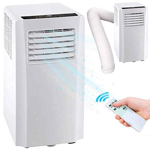 Bakaji Condizionatore Portatile 9000 BTU 2,6 kW Climatizzatore Gas Naturale R290 Aria Condizionata Funzione Ventilatore Deumidificatore Timer e Telecomando per Ambienti 35mq Lifetimeair