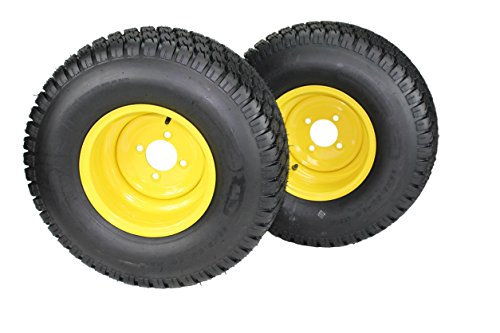 22x9.50-10 Tires & Wheels 4 Ply for Lawn & Garden Mower Turf Tires (Set of 2)