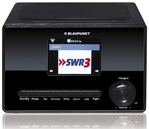 Blaupunkt IRK 1620 Internetradio mit Farbdisplay , Wlan, Küchenradio mit LCD Display 3,2 Zoll, USB, Wecker mit Alarmton, Wettervorhersage, Sleep Timer, Webradio, 3 Watt RMS