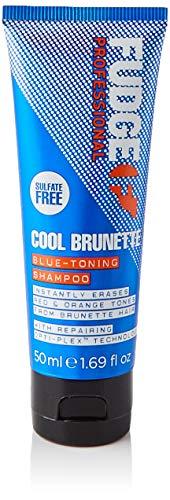Fudge Professional Cool Brunette Blue-Toning Anti-Orangestich Shampoo, 50 ml