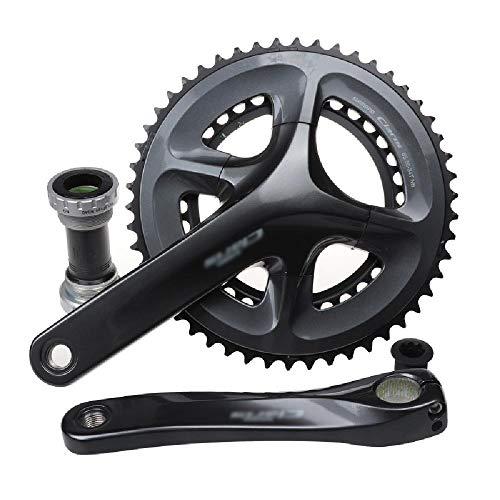 GWZZ Carretera Bicicleta Plegable y bielas 8 9 Velocidad Velocidad de Agujeros...