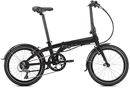 tern(ターン)2021年モデル Link D8 20インチ 8段変速 フォールディングバイク マットブラック/グレー