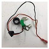 HXFANG Adecuado for Kit de conversión de Encendido electrónico Sustituye Puntos en el Cuatro Cilindros Nissan Datsun Hitachi distirbutor Distribuidor