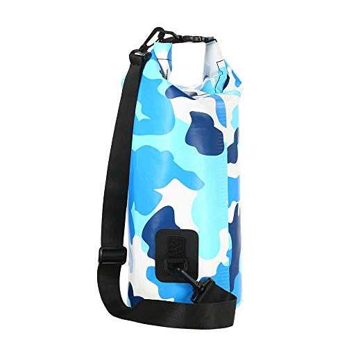 Otras herramientas de almacenamiento TOMSHOO 10L / 20L resistentes al agua al aire libre Bolsa Dry Sack Bolsa de almacenamiento con la caja del teléfono impermeable for viajar Rafting canotaje Kayak P