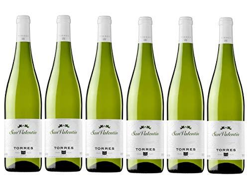 San Valentín, Vino Blanco - 6 botellas de 37.5 cl, Total: 2250