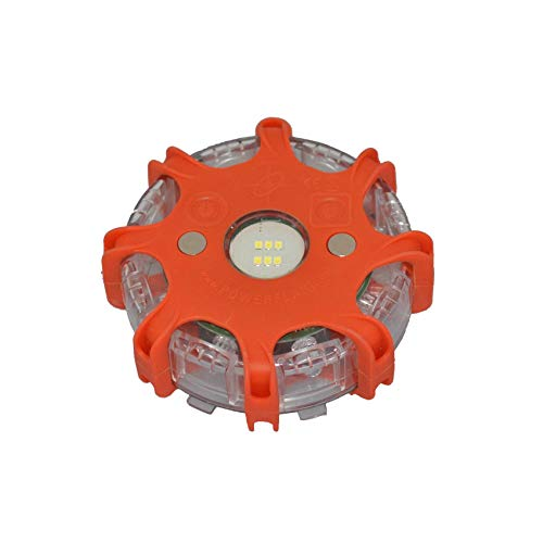 Powerflare Plus LED Signallicht Multicolor | Leuchtfarben Orange, Grün, Blau