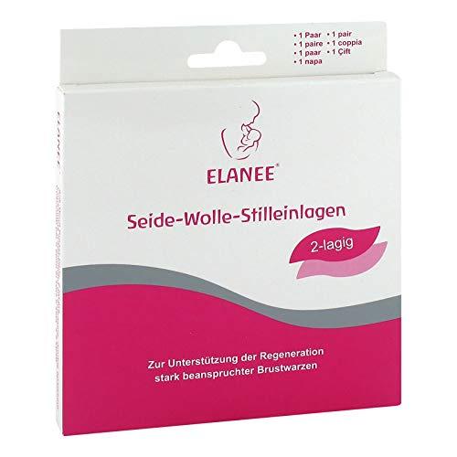ELANEE Stilleinlagen Seide-Wolle 2lagig 2 St