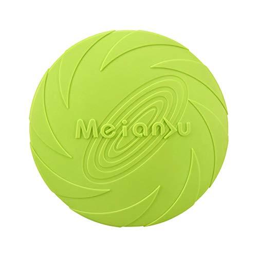 Disco para perros y perros con disco, diana de lanzamiento para cachorros. Un buen juguete de lanzamiento para entrenar a perros pequeños, diámetro aprox. 15 cm