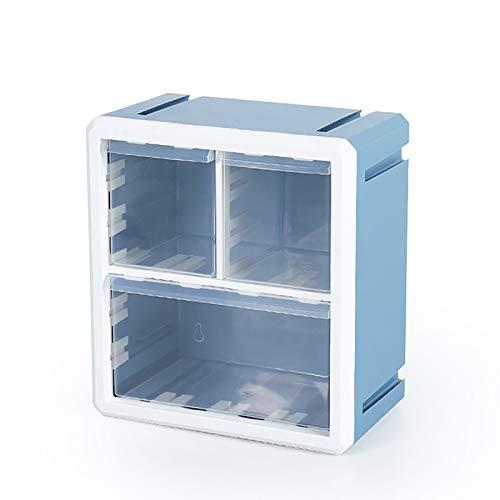 Caja De Almacenamiento Fresca Y Simple, Caja De Almacenamiento De Carga Natural, Caja De Almacenamiento De Piezas Pequeñas, 10.8X6.3X11.8 Pulgadas,Azul,10.8x6.3x11.8 in