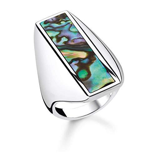 THOMAS SABO Damen-Ringe 925 Sterlingsilber mit \'- Ringgröße 54 TR2220-509-6-54