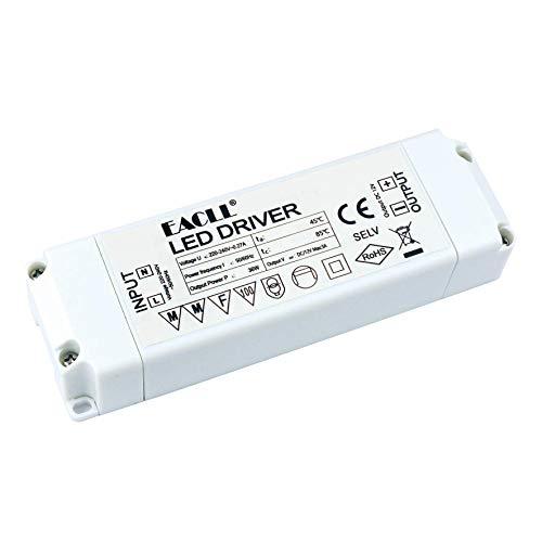 EACLL Transformador LED AC 240V a DC 12V 3A 36W, Para drive de Menos de 36W MR11 G4 MR16 GU5.3 Bombillas LED y Tiras de Luz LED, Adaptador de Lámpara LED Controlador Alimentación, 1 Pack