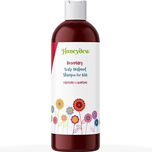 Kids Shampoo for Dry Scalp Care - Deep Cleansing Shampoo for Kids with Tea Tree Oil for Scalp Cleanser for Build Up and Dry Scalp Treatment for Kids - Paraben and Sulfate Free Shampoo for Kids