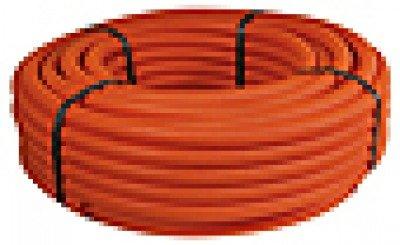 Kabelschutzrohr Elektrorohr Installationsrohr Wellrohr flexibel M32 orange 50m leichte Druckbeanspruchung (Preis pro Meter 0,68 Euro)