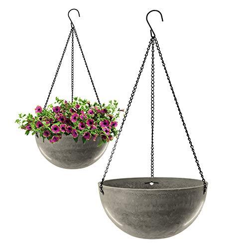 Fioriera sospesa, per piante grasse, caffè leggero, vaso da fiori, vaso da appendere, ideale per piante da interni, piante grasse, cactus (2 pezzi)