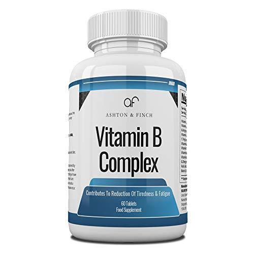 Complesso di vitamina B imbottigliato in 60 secondi.