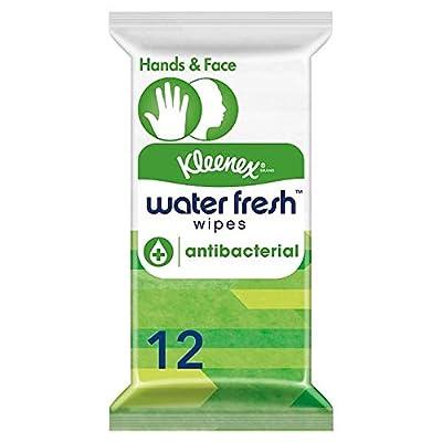 Kleenex Water Fresh Wipes Antibacterial 12 Wipes from KIMBERLY CLARK EURO SERV LTD