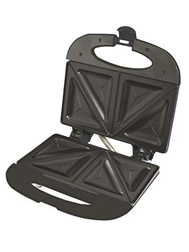 Schäfer Sandwichtoaster | Sandwichmaker | Toaster | Tischgrill | Elektrisch | fast&easy technique | 750W | Weiß