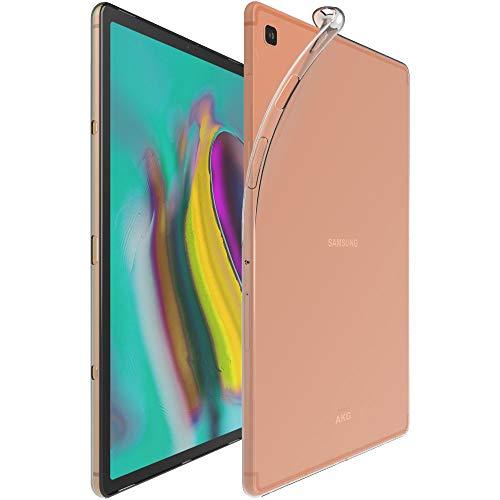 ebestStar - kompatibel mit Samsung Galaxy Tab S5e 10.5 Hülle T720/T725 Handyhülle [Ultra Dünn], Premium Durchsichtige Klar TPU Schutzhülle, Soft Flex Silikon, Transparent [Tab: 245x160x5.5mm, 10.5