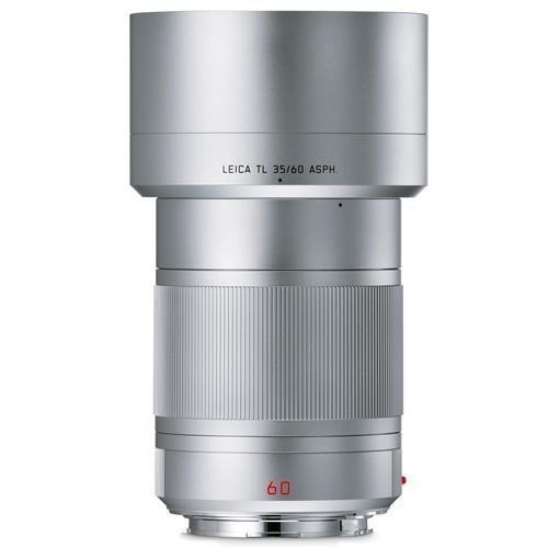 Leica APO-Macro-Elmarit-TL 60 mm f/2.8 ASPH Lens - Silver
