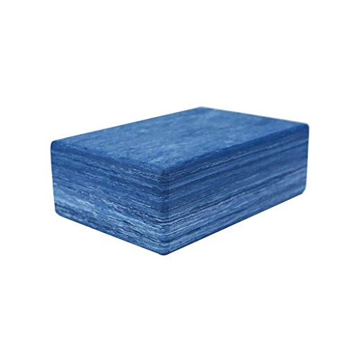 NAI-Pad Briques de Yoga de Camouflage, EVA Haute densité Briques de Yoga de l'environnement, sûre et respectueuse de l'environnement.Yoga, Pilates SIDA (Color : Camouflage Blue)