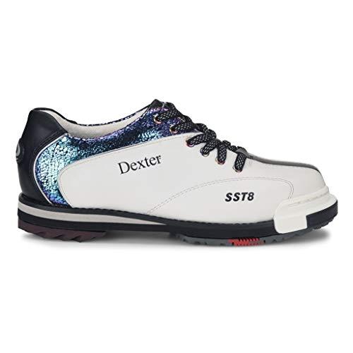 Dexter SST 8 Pro Ladies Wht/Crackle/Blk Size 8